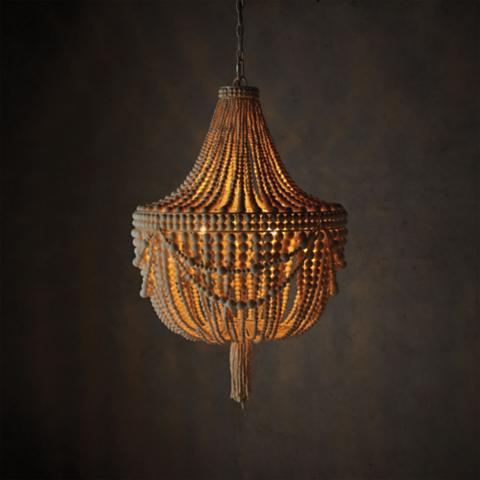Moira beaded chandelier frontgate moira beaded chandelier aloadofball Image collections