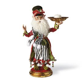 Mark Roberts Elf with Candle Holder