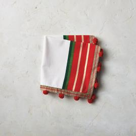 Festive Napkins, Set of Four