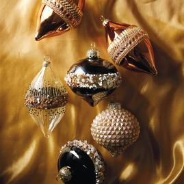 Gilded Soiree Accent Kit, Set of Six