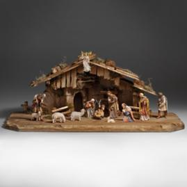 16-pc. Holy Night Nativity Stable Set