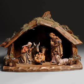 8-pc. Holy Night Nativity Stable Set