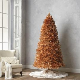 Gold Quick Light LED 9' Full Profile Tree