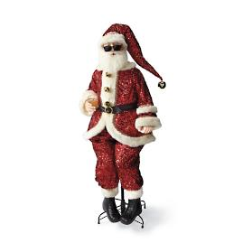 Life-size Sequin Santa by Katherine's Collection