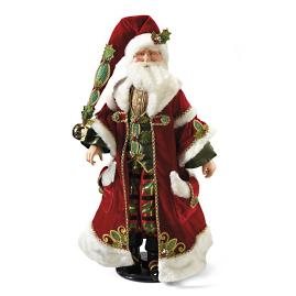 Doll-size Traditional Santa Claus by Katherine's Collection