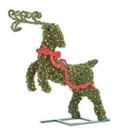 Leaping Deer Topiary