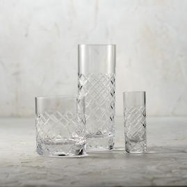 Diamond Cut All-In-One Barware Set