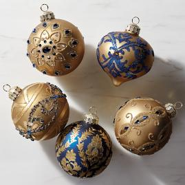 Versailles Blue & Gold Accent Kit, Set of