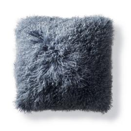 Mongolian Fur Square Decorative Pillow