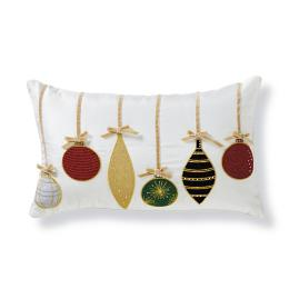 Hadley Place Ornaments Lumbar Pillow