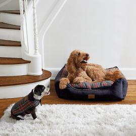 Stewart Plaid Dog Bed