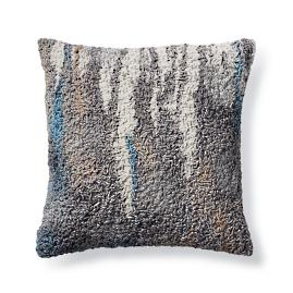 Mehria Square Textural Decorative Pillow