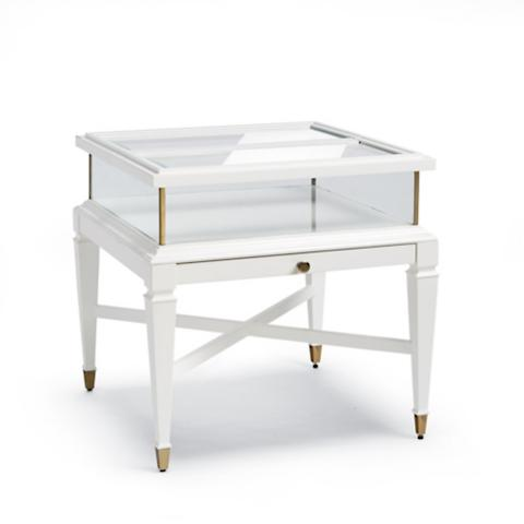 Anderson Sliding Side Table