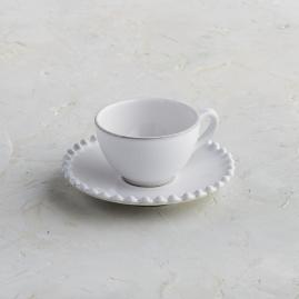 Costa Nova Pearl Coffee Cups & Saucers in