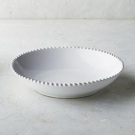 Costa Nova Pearl Serving Bowl in White