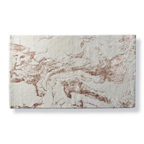 Bianco Marble Bath Rug