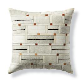 Rory Geometric Tile Hide Decorative Pillow by Martyn