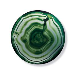 Geode Emerald Aluminum Wall Art by Martyn Lawrence