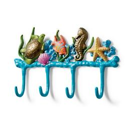 Sealife Scene Towel Hook