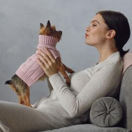 Cashmere Dog Sweater