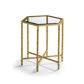 Outdoor Bamboo Side Table