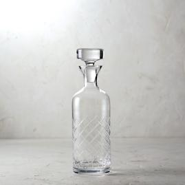 Diamond Cut Decanter