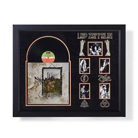 "Led Zeppelin Autographed ""IV"" Album"