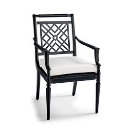 Montserrat Dining Arm Chairs with Cushions, Set of