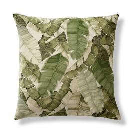 Beverly Banana Leaf Decorative Pillow