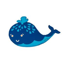 Squirt the Whale Pet Toy