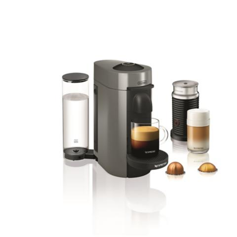 Nespresso Vertuoplus Coffee Maker With Aeroccino 3 Milk Frother
