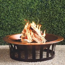 Classic Copper Fire Pit