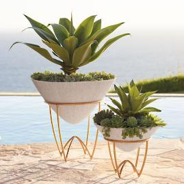 Lela Planter on Stand