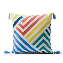 Rivera Stripes Outdoor Pillow