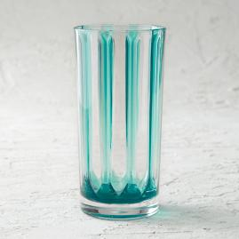 Riviera Striped Acrylic Tumblers, Set of Six