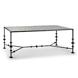Nina Tiled Dining Table by Martyn Lawrence Bullard