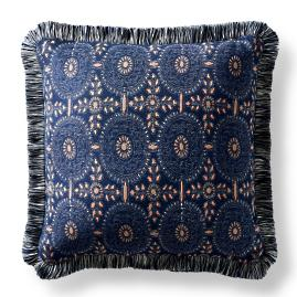 Bima Medallion Indigo Square Pillow