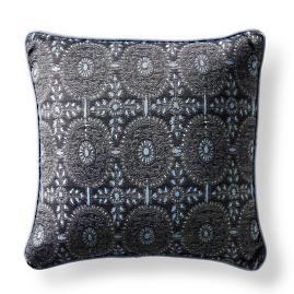 Bima Medallion Midnight Square Pillow
