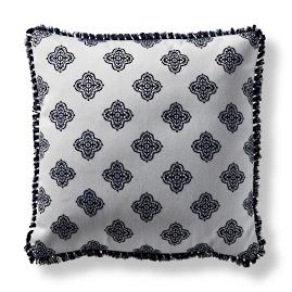 Dinara Jewel Indigo Square Pillow