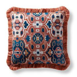 Khorassan Gem Spice Square Pillow