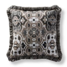 Khorassan Gem Taupe Square Pillow
