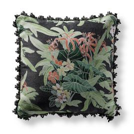 Kohala Bouquet Tropical Square Pillow