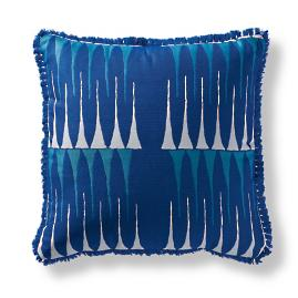 Peak Chic Cobalt Outdoor Pillow
