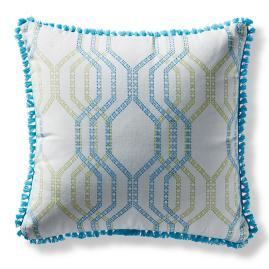 Linear Links Aruba Square Indoor/Outdoor Pillow