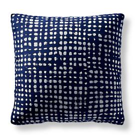 Dapple Indigo Outdoor Pillow by Martyn Lawrence Bullard