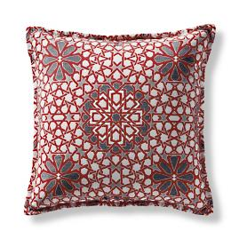 Star Status Garnet Outdoor Pillow by Martyn Lawrence