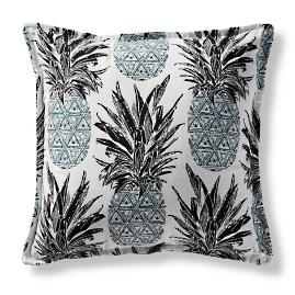 Pineapple Surprise Outdoor Pillow by Martyn Lawrence Bullard