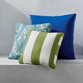 Outdoor Boxed Square Pillow