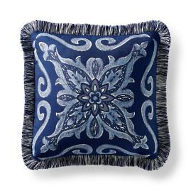 Amarante Indoor/Outdoor Pillow - Cobalt