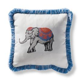 Raj Garnet Outdoor Pillow